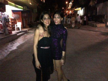 Neda and Nika Mexico 2012